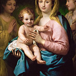 Anton Raphael Mengs -- Mary with Child and two Angels, Kunsthistorisches Museum