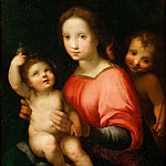 Francesco Vanni -- Saint Mary with Child and young John the Baptist, Kunsthistorisches Museum