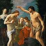 Guido Reni -- Baptism of Christ, Kunsthistorisches Museum