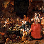 Frans Francken II -- Witches' Kitchen, Kunsthistorisches Museum