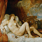 Titian -- Danaë, mother of Perseus, Kunsthistorisches Museum