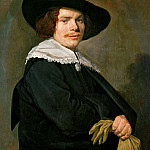 Frans Hals -- Portrait of a Young Man, Kunsthistorisches Museum