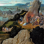 Kunsthistorisches Museum - Joachim Patinir (c. 1480-before 1524) -- Martyrdom of Saint Catherine