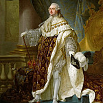 Antoine-Franзois Callet -- Louis XVI, King of France , Kunsthistorisches Museum