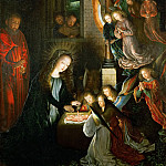 Gerard David -- Holy Night, Kunsthistorisches Museum