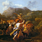 Kunsthistorisches Museum - Nicolaes Berchem the Elder (1620-1683) -- Cowherds and Herd