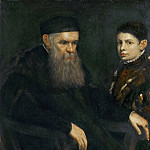 Jacopo Tintoretto -- Old Man and a Boy, Kunsthistorisches Museum