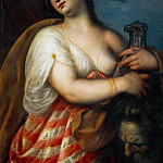 Kunsthistorisches Museum - Padovanino (Italian painter, 1588-1649) -- Judith with the head of Holofernes