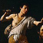 Michelangelo Merisi da Caravaggio -- David with the Head of Goliath, Kunsthistorisches Museum