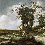 Kunsthistorisches Museum - Isack van Ostade -- The Inn in the Dunes