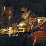 Kunsthistorisches Museum - Jan Davidsz. de Heem (1606-1683 or 1684) -- Breakfast Still Life