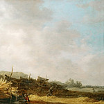 Landscape with Dunes, Jan Van Goyen