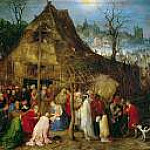 Brueghel, Jan The Elder -- Поклонение волхвов. 1598. 33х48., Kunsthistorisches Museum