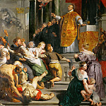 Kunsthistorisches Museum - Peter Paul Rubens -- Miracle of Saint Ignatius Loyola