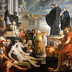 Miracle of Saint Francis Xavier, Peter Paul Rubens