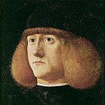 Giovanni di Niccolò Mansueti -- Portrait of a young man, Kunsthistorisches Museum