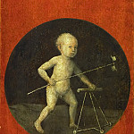 Kunsthistorisches Museum - Hieronymus Bosch -- Small Child with Windmill