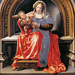 Jan Gossaert -- Madonna and Child, Kunsthistorisches Museum