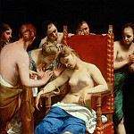 Kunsthistorisches Museum - Guido CAGNACCI -- The Death of Cleopatra