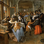 Jan Steen -- The Deceived Bridegroom, Kunsthistorisches Museum