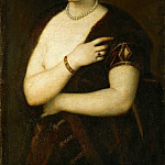 Titian -- Young Woman with Fur, Kunsthistorisches Museum