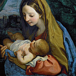 Carlo Maratti -- Madonna and Child, Kunsthistorisches Museum