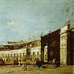 Piazza San Marco, Venice, Francesco Guardi