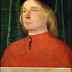 Lorenzo Lotto -- Young man in a red jacket, Kunsthistorisches Museum