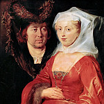 Kunsthistorisches Museum - Peter Paul Rubens -- Saint Bega and Her Husband Ansegius