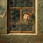 Samuel van Hoogstraten -- Man at the Window, Kunsthistorisches Museum