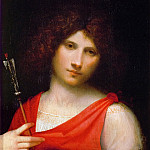 Giorgione -- The Boy with the Arrow, Kunsthistorisches Museum
