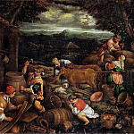 Kunsthistorisches Museum - Francesco Bassano II (1549-1592) -- Autumn (Grape Harvest)