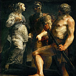 Kunsthistorisches Museum - Giuseppe Maria Crespi -- Aeneas, the Sibyl and Charon