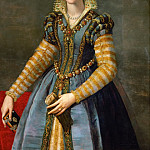 Kunsthistorisches Museum - Allori,Alessandro -- Maria de Medici (1540-1557) Oil on poplar wood, 114,5 x 89,5 cm Ascribed to Allori, identification doubtful.