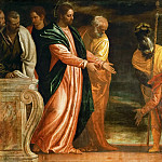 Paolo Veronese -- Centurion of Capernaum who begs Jesus to heal his paralyzed servant, Kunsthistorisches Museum
