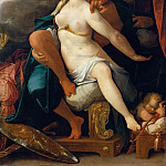 Bartholomaeus Spranger -- Venus and Mars warned by Mercury, Kunsthistorisches Museum