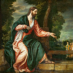 Kunsthistorisches Museum - Paolo Veronese -- Christ and the Samaritan Woman at the Well