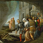 Jacopo Bassano il Vecchio -- Tamar Led to the Stake, Kunsthistorisches Museum