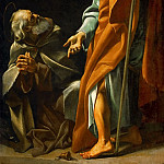 Giovanni Lanfranco -- The Virgin and Child Appearing to the hermit Saints Paul and Anthony, Kunsthistorisches Museum