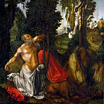 Lucas Cranach the elder -- Saint Jerome in Penance, Kunsthistorisches Museum