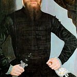 Lucas Cranach the younger -- Portrait of a Man, Kunsthistorisches Museum