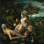 Kunsthistorisches Museum - Francesco Bassano II (1549-1592) -- Parable of the Good Samaritan