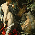 Bartholomaeus Spranger -- Hermaphroditus and the nymph Salamacis, Kunsthistorisches Museum