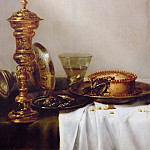 Willem Claesz. Heda -- Breakfast Still Life with Chalice, Kunsthistorisches Museum