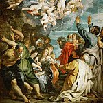 Kunsthistorisches Museum - Peter Paul Rubens -- Assumption of Saint Mary
