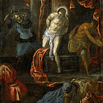 Jacopo Tintoretto -- Flagellation of Christ, Kunsthistorisches Museum