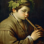 Kunsthistorisches Museum - Francesco Bassano II (1549-1592) -- Boy with Flute