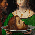 Bernardino Luini -- Salome with the head of Saint John the Baptist, Kunsthistorisches Museum
