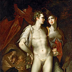 Bartholomaeus Spranger -- Love is Cold without Ceres and Bacchus , Kunsthistorisches Museum