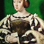 Kunsthistorisches Museum - Joos van Cleve -- Queen Eleanora of France